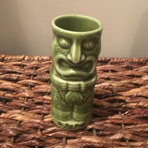 Other - Green tiki planter